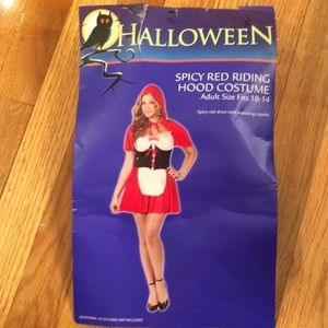 Spicy Red Riding Hood Costume